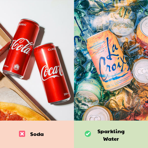 Healthy Game Day Swaps: Soda