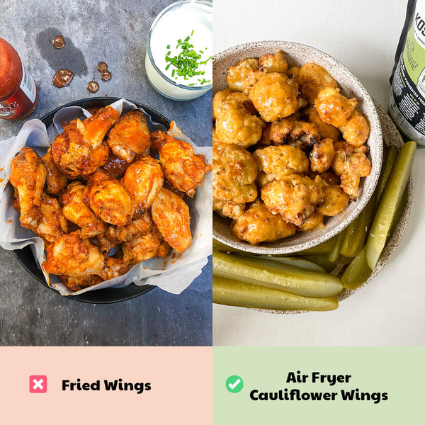 Healthy Game Day Swap: Chicken Wings
