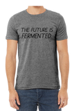 The Future Is Fermented T-Shirt In Dark Heather Grey