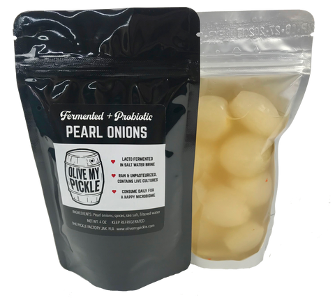Fermented Pearl Onions