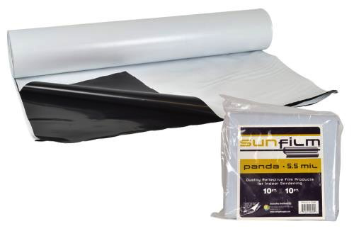 Sunfilm Black & White Panda Film 10 ft x 25 ft Folded & Bagged