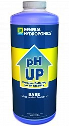 Genreal Hyrdoponincs pH Up 1 qt Base