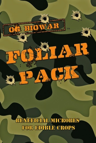 OG Bio War Foliar Pack