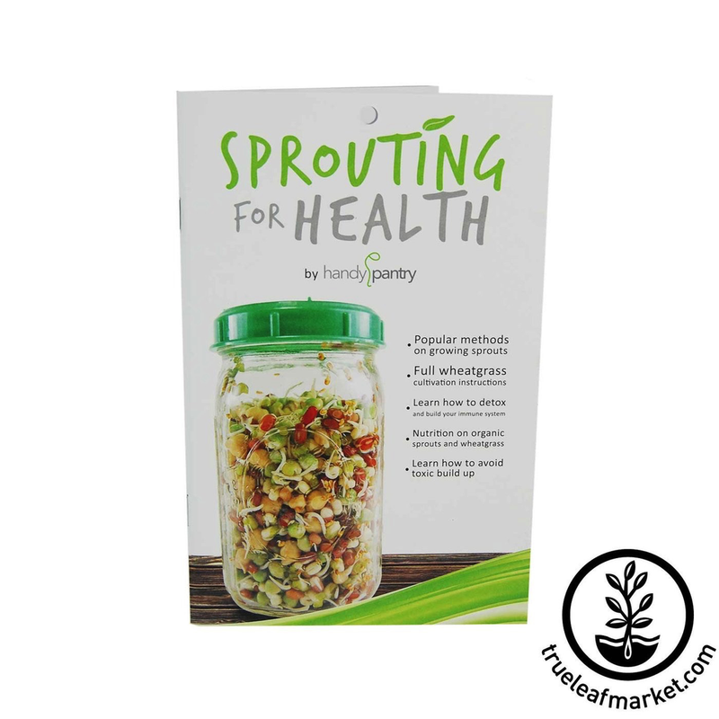 HANDY PANTRY SPROUTING FOR HEALTH (SPROUT BOOK)