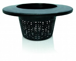 "8"" Wide Lip Bucket Basket,"