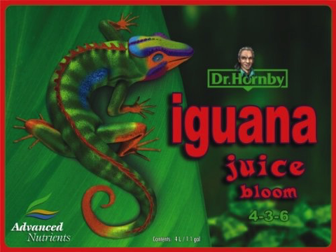 Advanced Nutrients Iguana Juice Bloom Organic Fertilizer, 1-Liter