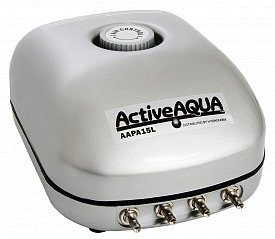 Active Aqua Air Pump 4 Outlets 10W 15L/min