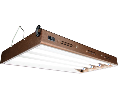 Agrobrite Designer T5 96W 2' 4-Tube Fixture with Lamps