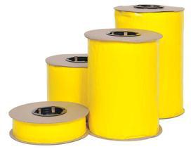 "2"" PCR 530ft Yellow Sticky Tape"