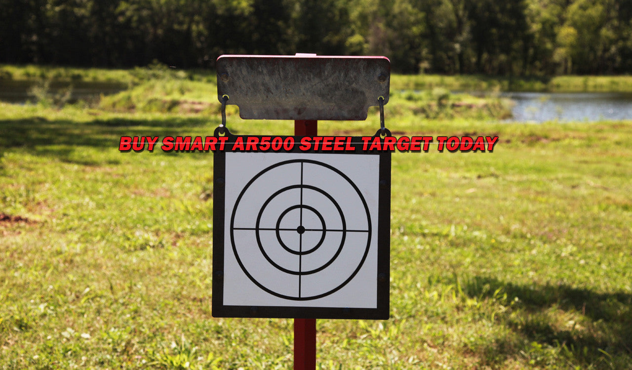 Buy Smart AR500 Steel Target Today