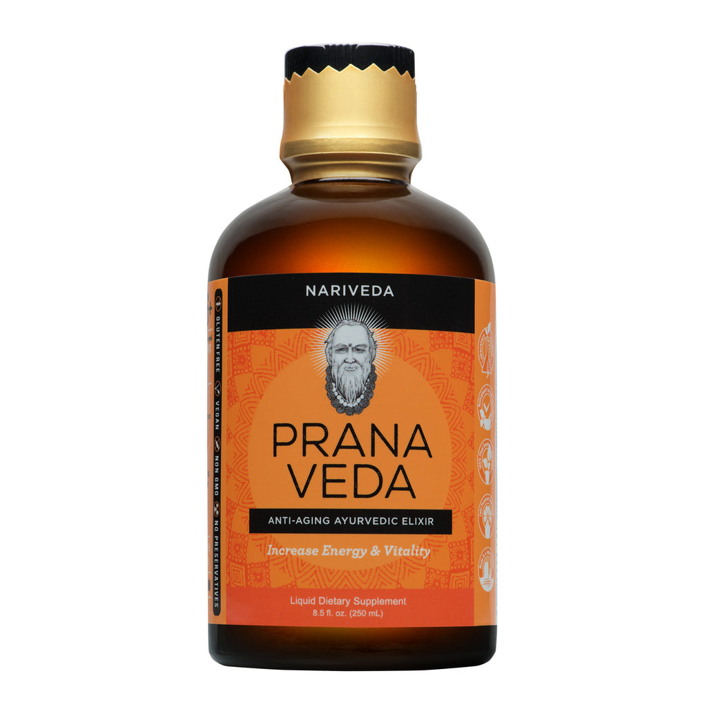 Prana Veda by Nariveda Ayurvedic energy and vitality supplement