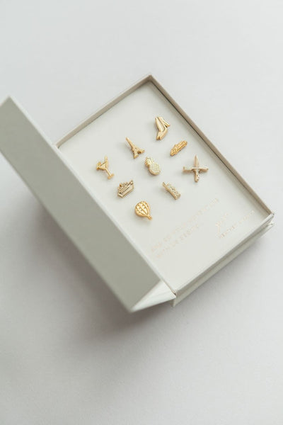 The Wanderlust with Butterfly Clip by Lark & Ives - Planning Pretty