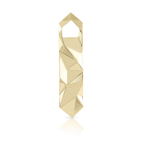 Faceted Gold Bottle Opener by Viski - Planning Pretty