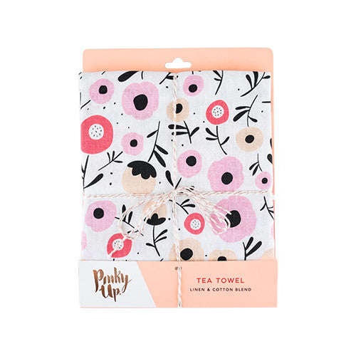 Posy Flower Tea Towel by Pinky Up - Planning Pretty