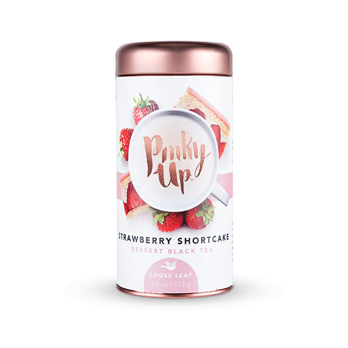 Strawberry Shortcake Loose Leaf Dessert Black Tea by Pinky Up - Planning Pretty
