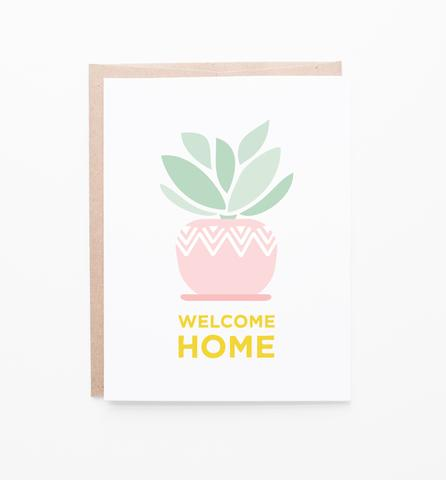 Houseplant New Home Card by Graphic Anthology - Planning Pretty