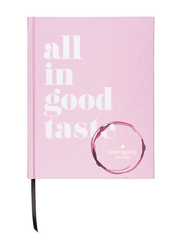 All In Good Taste by Kate Spade New York - Planning Pretty