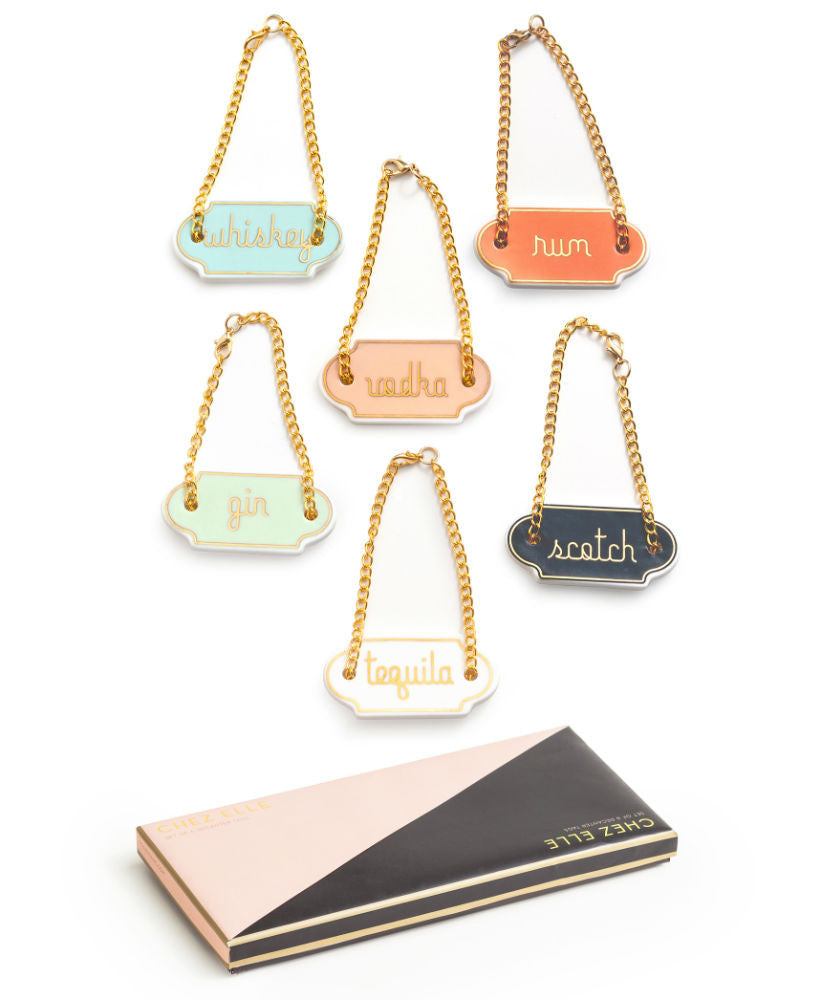 Chez Elle Decanter Tags - Planning Pretty