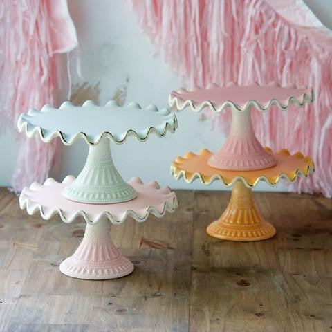 Ruffle Cake Stand - Planning Pretty