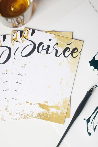 Soiree Invitation Set - Planning Pretty