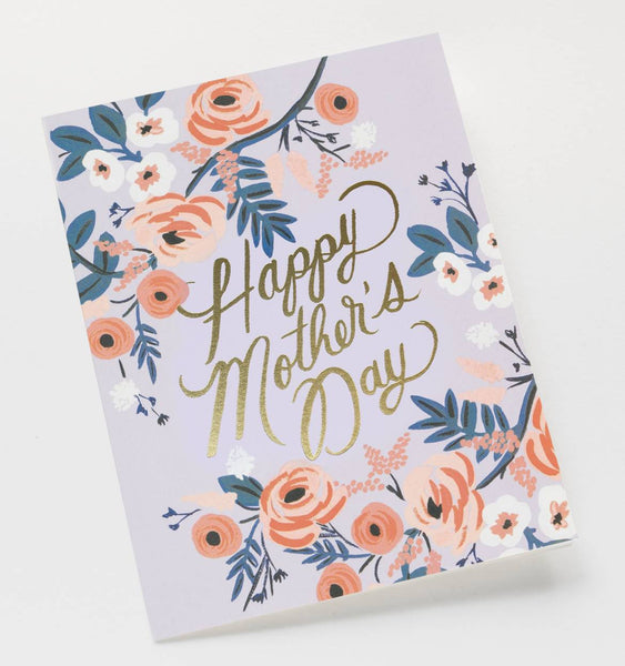 Rosy Mother's Day Card by Rifle Paper Co - Planning Pretty