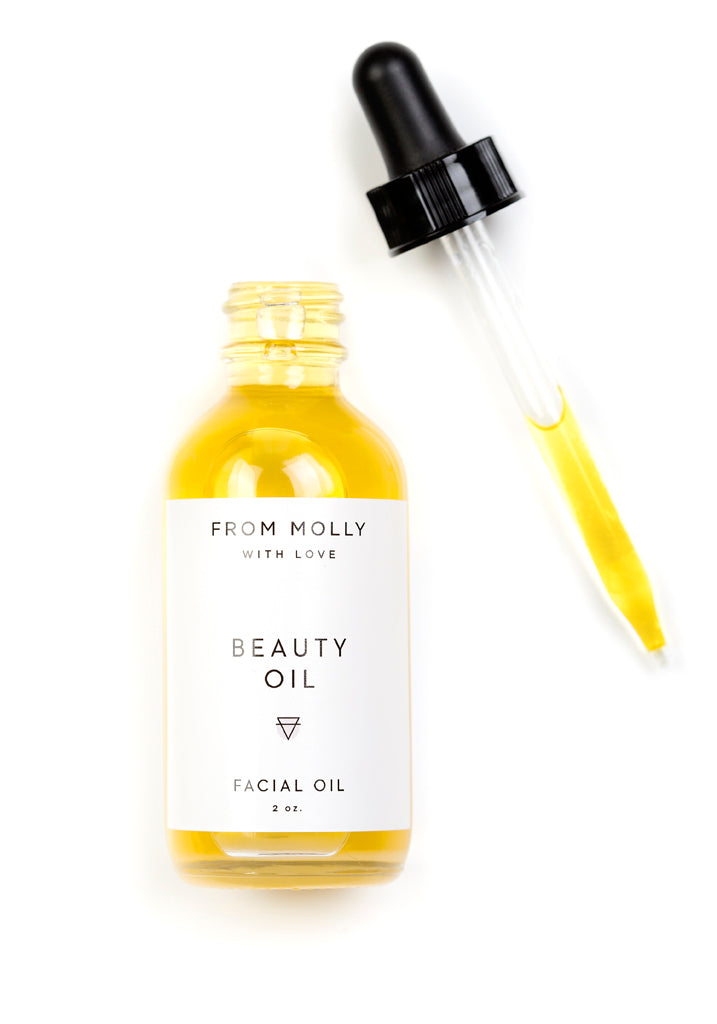 Beauty Oil by From Molly With Love - Planning Pretty