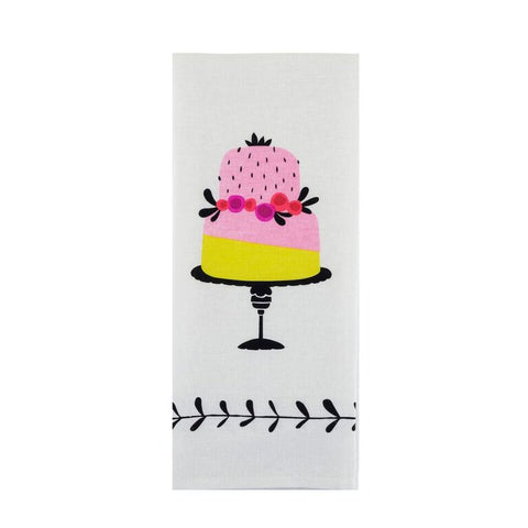 Piece of Cake Tea Towel by Pinky Up - Planning Pretty