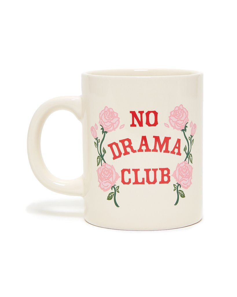 No Drama Club Ceramic Mug by ban.do - Planning Pretty