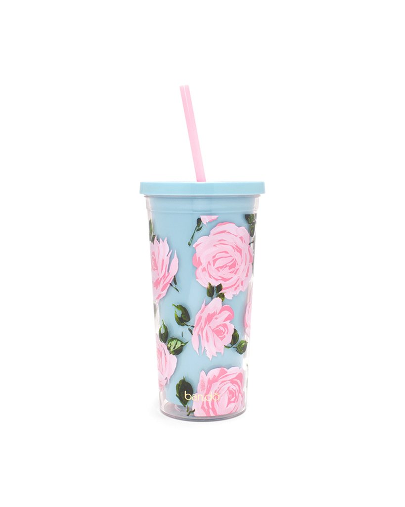 Rose Parade Sip Sip Tumbler by ban.do - Planning Pretty
