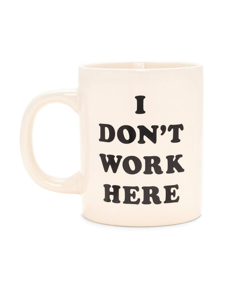 I Don't Work Here Hot Stuff Ceramic Mug by ban.do - Planning Pretty