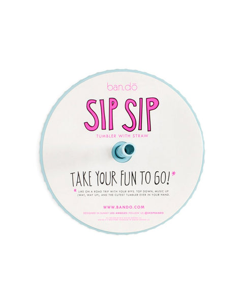 I Am Very Busy Sip Sip Tumbler by ban.do - Planning Pretty
