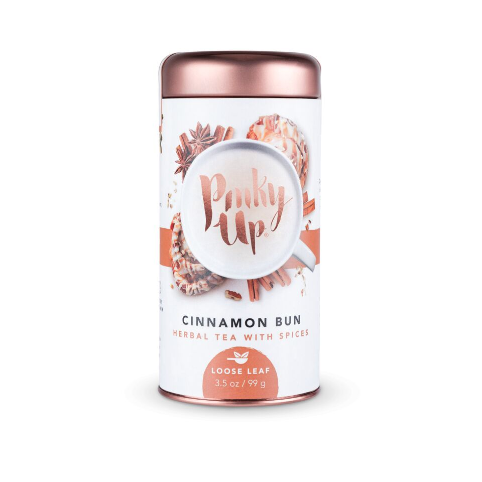 Cinnamon Bun Loose Leaf Tea by Pinky Up - Planning Pretty