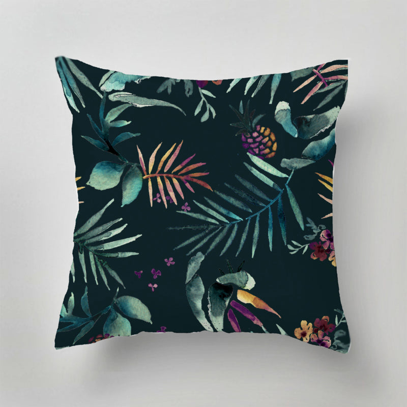 Dark Tropico Pillows by Annet Weelink Designs - Planning Pretty