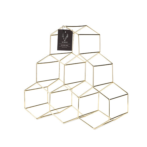 Geo Wine Rack by Viski - Planning Pretty