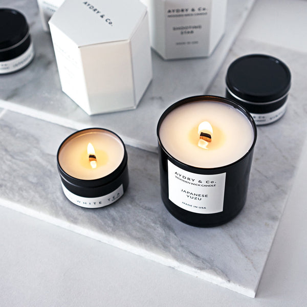 Aydry & Co. - Champagne Brunch Wooden Wick Candle - Planning Pretty