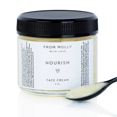 Nourish Face Cream by From Molly With Love