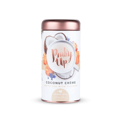 Coconut Creme Loose Leaf Tea by Pinky Up - Planning Pretty