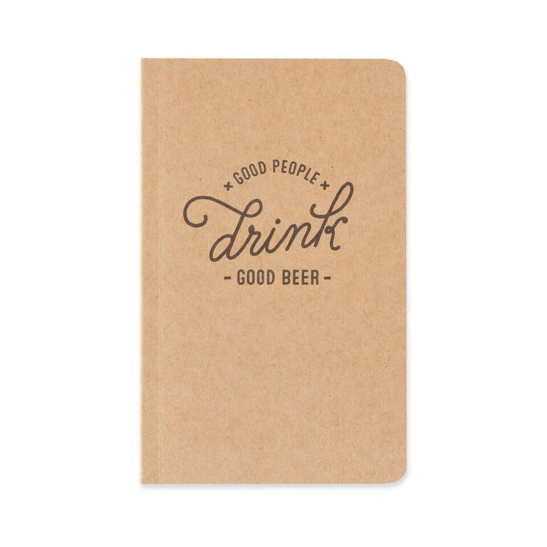 Beer Tasting Field Notebook by Foster & Rye - Planning Pretty