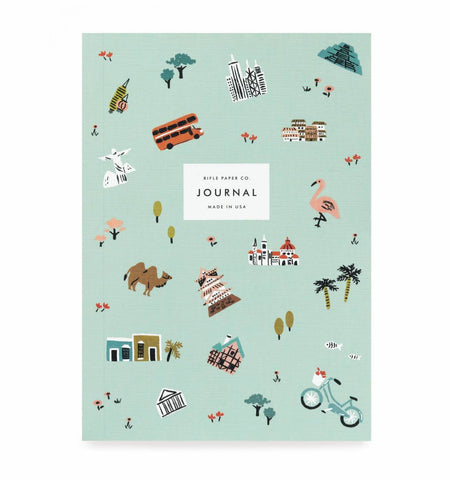 Wanderlust Travel Journal by Rifle Paper Co - Planning Pretty