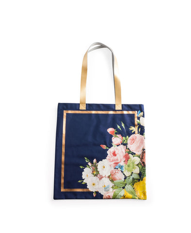 Floral Tote Bag - Planning Pretty