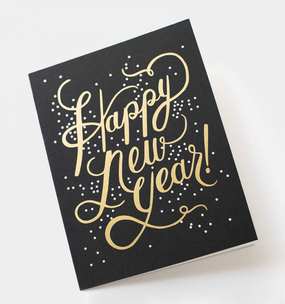 Shimmering New Year Card | Rifle Paper Co - Planning Pretty