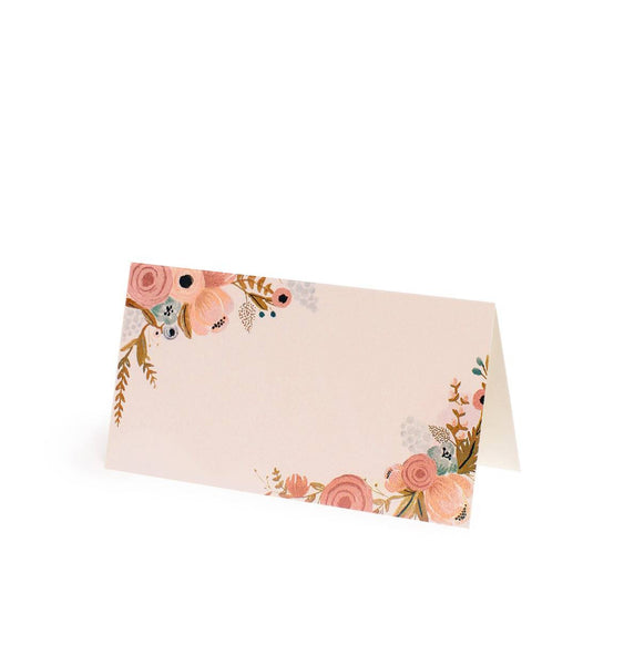 Peachy Keen Place Cards - Planning Pretty