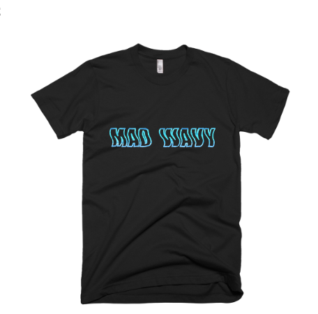 Mad Wavy T-Shirt (black)