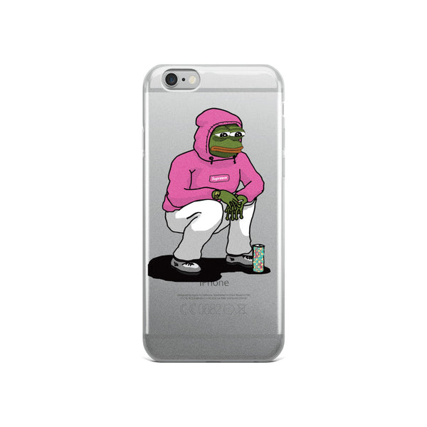 Sad Boy iPhone Case