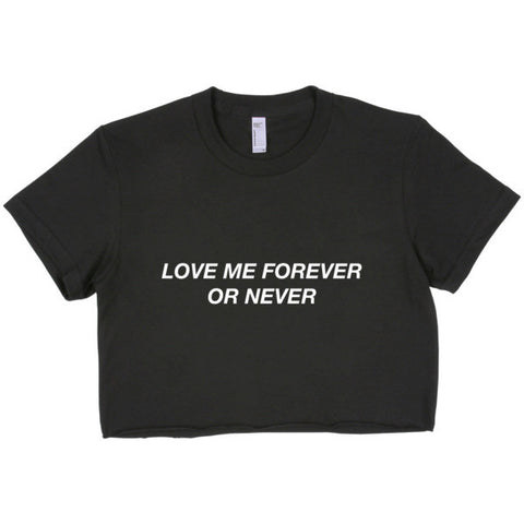Love Me Forever Crop Top