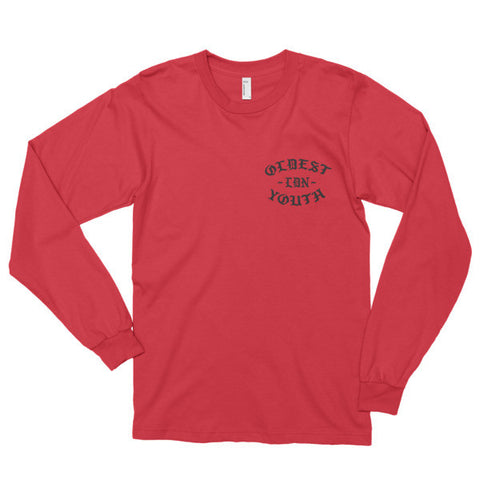 Oldest Youth Logo Long Sleeve