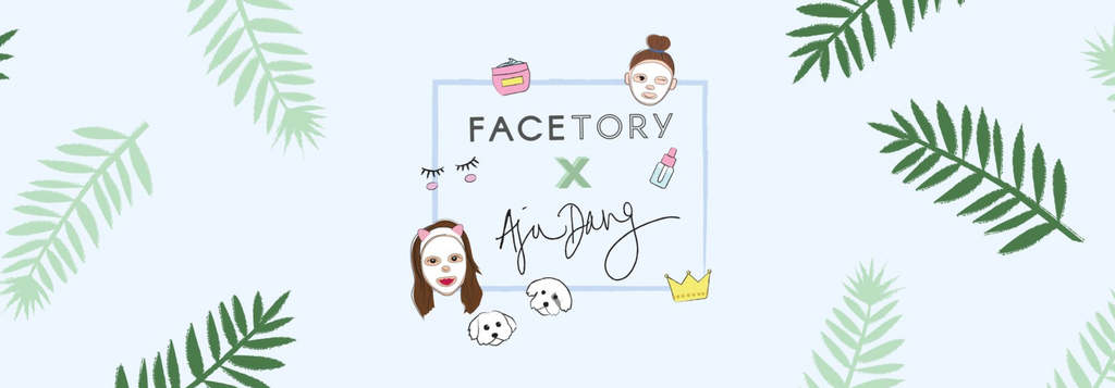 Meg Cosmetics in Facetory x Aja Dang in October Seven Lux Box!