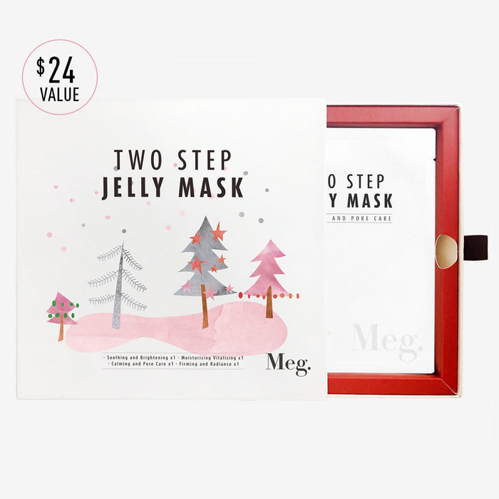 Two Step Jelly Mask Holiday Bundle - Megcosmetics by dpark corporation