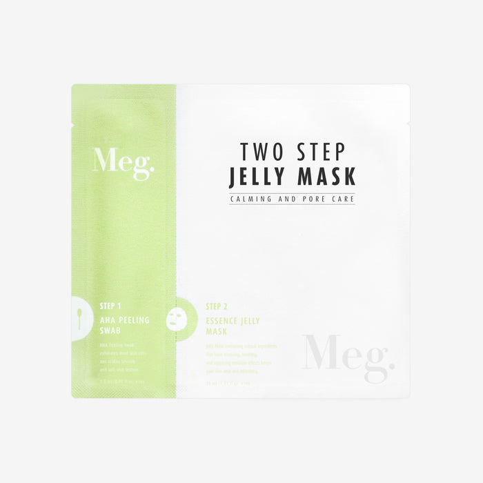 Two Step Jelly Mask - Calming and Pore Care - Megcosmetics by dpark corporation