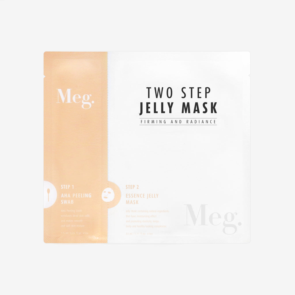 Two Step Jelly Mask - Firming and Radiance - Megcosmetics by dpark corporation